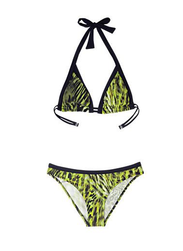 Ayyıldız Kadın Üçgen Kesim Bikini Takımı 2729 Yeşil